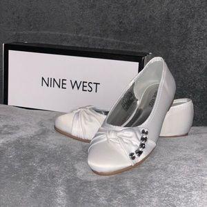 Nine West Little Girls Size 2 Dress Shoes